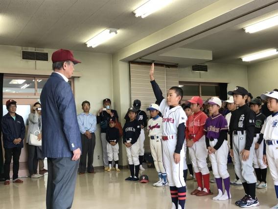 江藤省三杯争奪 第40回船橋市少年学童野球新人大会